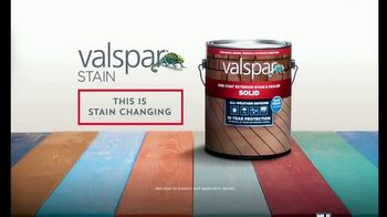 Valspar All-Weather Stain TV Spot, 'Protect Your Deck' - Thumbnail 8