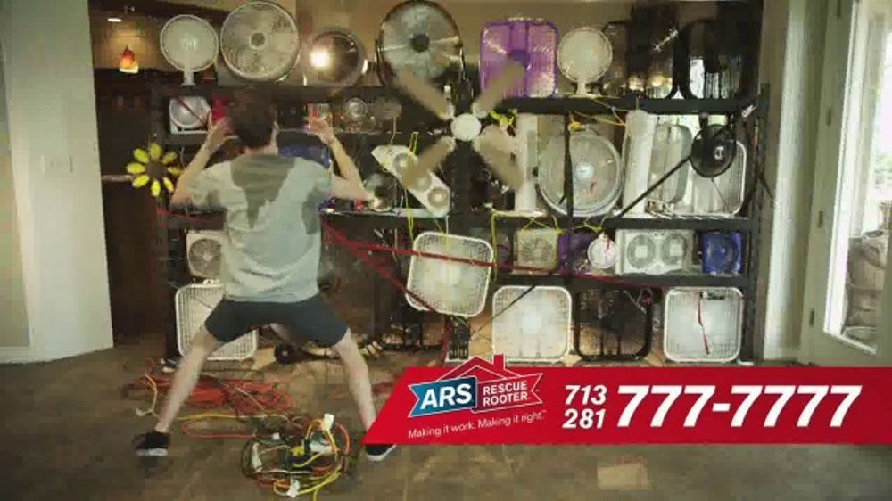 ARS Rescue Rooter $69 A/C Tune-Up Special TV Commercial, 'Call the Pros'