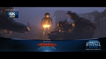DIRECTV Cinema TV Spot, 'How to Train Your Dragon: The Hidden World'