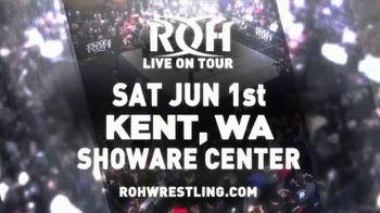 ROH Wrestling TV Spot, '2019 Kent: Showare Center' - Thumbnail 3