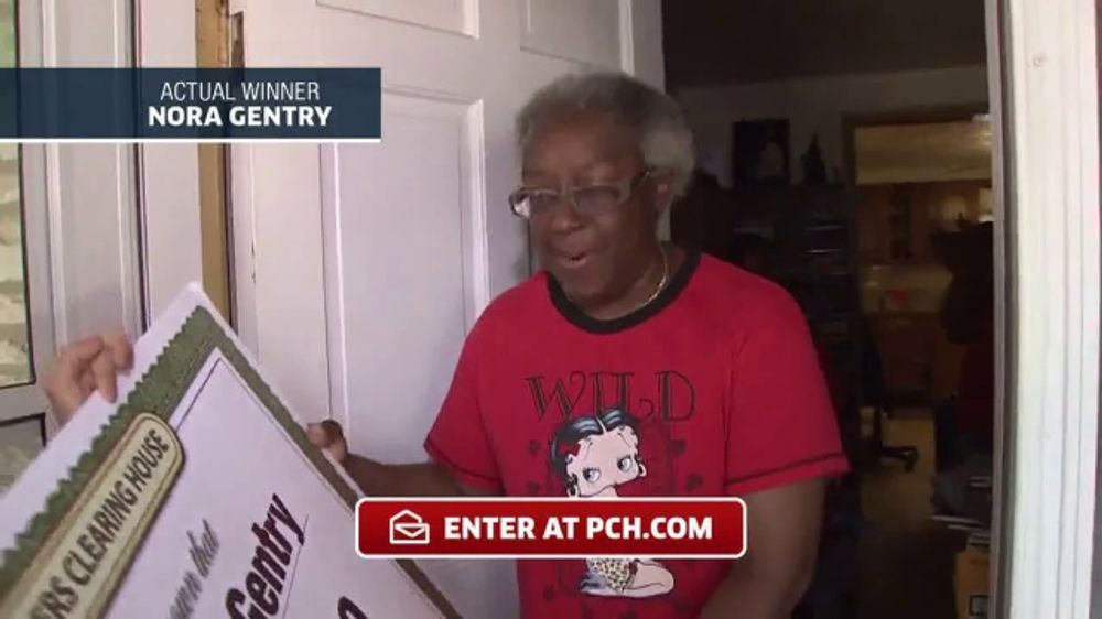 Publishers Clearing House TV Commercial, 'Actual Winner: Nora Gentry' -  Video