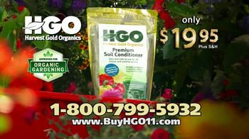 Harvest Gold Organics TV Spot, 'Soil Conditioner' - Thumbnail 8