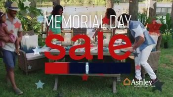 Ashley HomeStore Memorial Day Sale TV Spot, 'Patio Furniture' Song by Midnight Riot