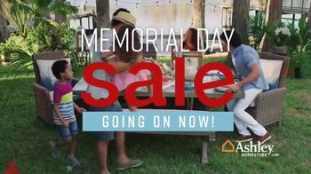 Ashley HomeStore Memorial Day Sale TV Spot, 'Patio Furniture' Song by Midnight Riot - Thumbnail 3