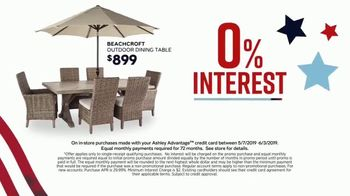 Ashley HomeStore Memorial Day Sale TV Spot, 'Patio Furniture' Song by Midnight Riot - Thumbnail 6