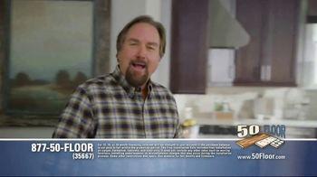 50 Floor TV Spot, 'Tired Floors' Featuring Richard Karn - Thumbnail 1