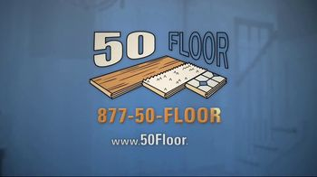 50 Floor TV Spot, 'Tired Floors' Featuring Richard Karn - Thumbnail 10