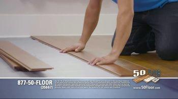 50 Floor TV Spot, 'Tired Floors' Featuring Richard Karn - Thumbnail 3