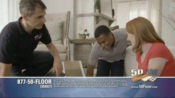 50 Floor TV Spot, 'Tired Floors' Featuring Richard Karn - Thumbnail 4