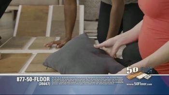 50 Floor TV Spot, 'Tired Floors' Featuring Richard Karn - Thumbnail 5