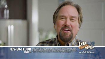 50 Floor TV Spot, 'Tired Floors' Featuring Richard Karn - Thumbnail 6