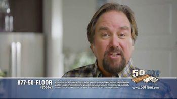 50 Floor TV Spot, 'Tired Floors' Featuring Richard Karn - Thumbnail 7