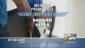 50 Floor TV Spot, 'Tired Floors' Featuring Richard Karn - Thumbnail 8