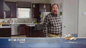 50 Floor TV Spot, 'Tired Floors' Featuring Richard Karn