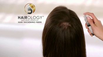 Hairology Hair Thickening Fibers TV Spot, 'Point & Pump'