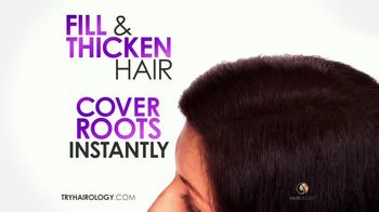 Hairology Hair Thickening Fibers TV Spot, 'Point & Pump' - Thumbnail 7