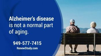 Renew Research TV Spot, 'Alzheimer's Disease'