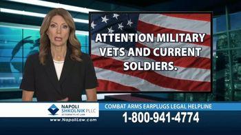 Napoli Shkolnik PLLC TV Spot, 'Combat Earplugs' - Thumbnail 1