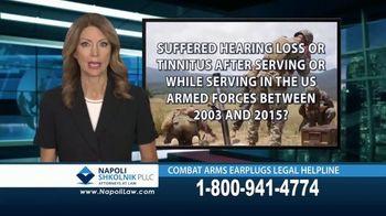 Napoli Shkolnik PLLC TV Spot, 'Combat Earplugs' - Thumbnail 2