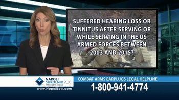 Napoli Shkolnik PLLC TV Spot, 'Combat Earplugs' - Thumbnail 6