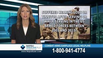 Napoli Shkolnik PLLC TV Spot, 'Combat Earplugs' - Thumbnail 7