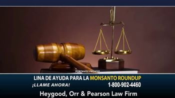 Heygood, Orr and Pearson TV Spot, 'Monsanto Roundup' [Spanish] - Thumbnail 1