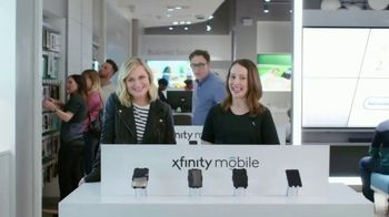 XFINITY Mobile TV Spot, 'Stop and Smell the Savings: $100 Back' Featuring Amy Poehler - 75 commercial airings