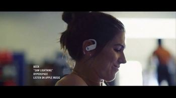 Beats Audio Powerbeats Pro TV Spot, 'Unleashed' Featuring LeBron James, Serena Williams - Thumbnail 4