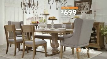 Ashley HomeStore Heart of the Home Event TV Spot, 'Dining Tables, Sectionals & Beds' Song by Midnight Riot - Thumbnail 7
