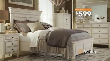 Ashley HomeStore Heart of the Home Event TV Spot, 'Dining Tables, Sectionals & Beds' Song by Midnight Riot - Thumbnail 9