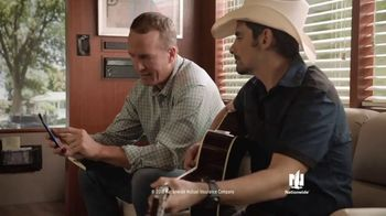 Nationwide Insurance TV Spot, 'Start A Claim Right From Your App' Ft. Peyton Manning, Brad Paisley