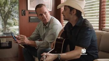 Nationwide Insurance TV Spot, 'Start A Claim Right From Your App' Ft. Peyton Manning, Brad Paisley - Thumbnail 3