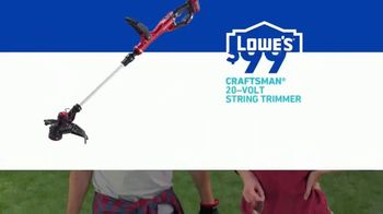 Lowe's TV Spot, 'Show Your Yard Who's Boss: Craftsman Gas String Trimmer' - Thumbnail 8