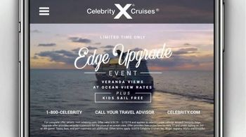 Celebrity Cruises Edge Upgrade Event TV Spot, 'Best of Europe' - Thumbnail 9
