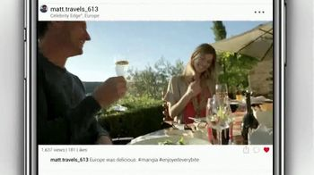Celebrity Cruises Edge Upgrade Event TV Spot, 'Best of Europe' - Thumbnail 4