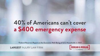 Morgan and Morgan Law Firm TV Spot, '40 Percent Don't Have $400' - Thumbnail 2