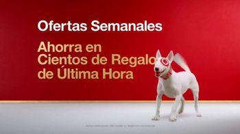 Target TV Spot, 'Ofertas semanales: ahorros en regalos de última hora' [Spanish]