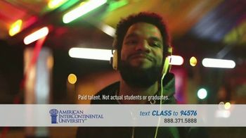 American InterContinental University TV Spot, 'Media Production Degree'