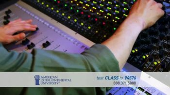 American InterContinental University TV Spot, 'Media Production Degree' - Thumbnail 3