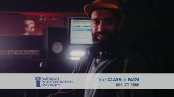 American InterContinental University TV Spot, 'Media Production Degree' - Thumbnail 7
