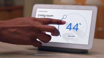 Google Home Hub TV Spot, 'Control Your Home: $129' Song by Jacqueline Taieb - Thumbnail 8