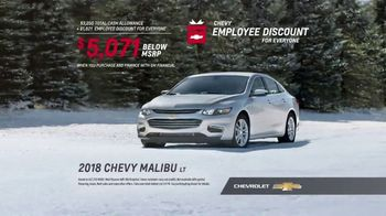 Chevrolet Employee Discount for Everyone Sales Event TV Spot, '2018 Holidays: Real Families' [T2] - Thumbnail 8