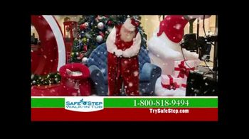 Safe Step TV Spot, 'Holidays: Even Santa Can Relate' - 112 commercial airings
