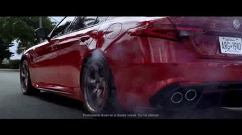 Alfa Romeo Giulia Quadrifoglio TV Spot, 'Revel in Speed: Fable' [T1] - Thumbnail 6