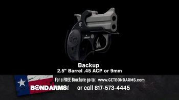 Bond Arms Inc. TV Spot, 'Double Barrel Handgun' - Thumbnail 9