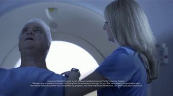 American Public University TV Spot, 'Nursing on the Front Line'