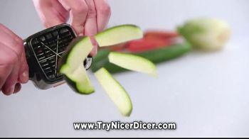 Nicer Dicer Quick TV Spot, 'Speed Slicer' - Thumbnail 2