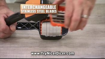 Nicer Dicer Quick TV Spot, 'Speed Slicer' - Thumbnail 4