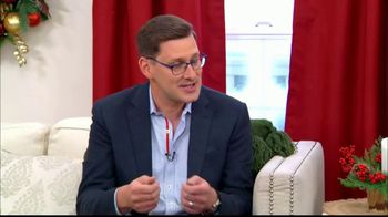 Balsam Hill TV Spot, 'Hallmark Channel: Comparing Needles' Ft. Debbie Matenopoulos, Cameron Mathison