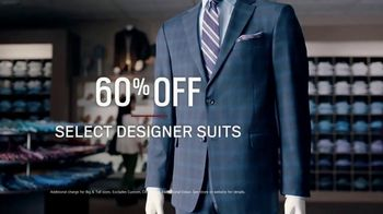 Men's Wearhouse TV Spot, 'Happy Holidays: Designer Suits and Sport Coats'